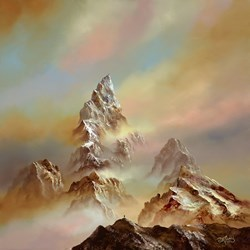 Mountain Mist III by Philip Gray -  sized 32x32 inches. Available from Whitewall Galleries